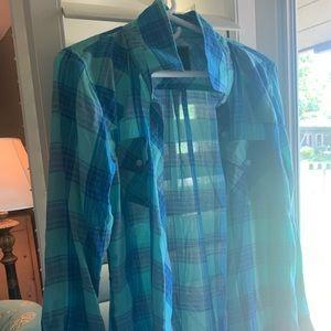 Rails plaid button up blouse 🖤